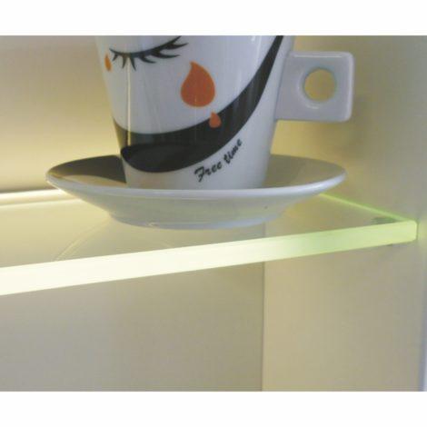 profil do podświetlania półki szklanej