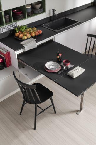 stół wysuwany z szuflady T-ABLE